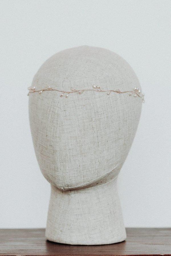 Headpiece Emmi - Kopfschmuck - Roségold