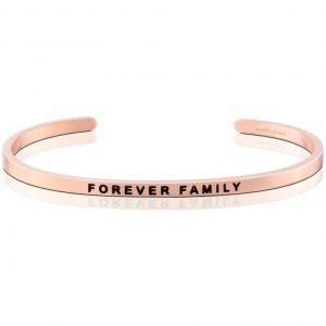 Mantra Bracelet 'Forever Family' - Schmuck - Roségold