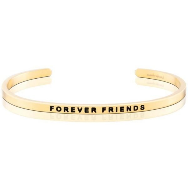 Mantra Bracelet 'Forever Friends' - Schmuck - Gold