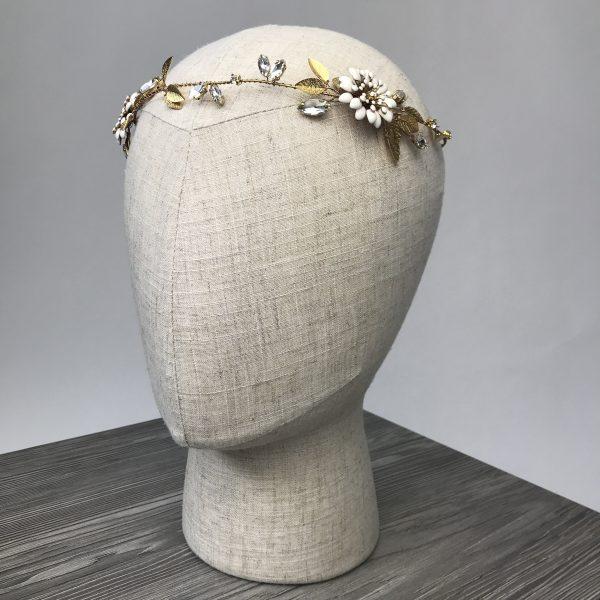 Headpiece 'Golden Glam' - Kopfschmuck
