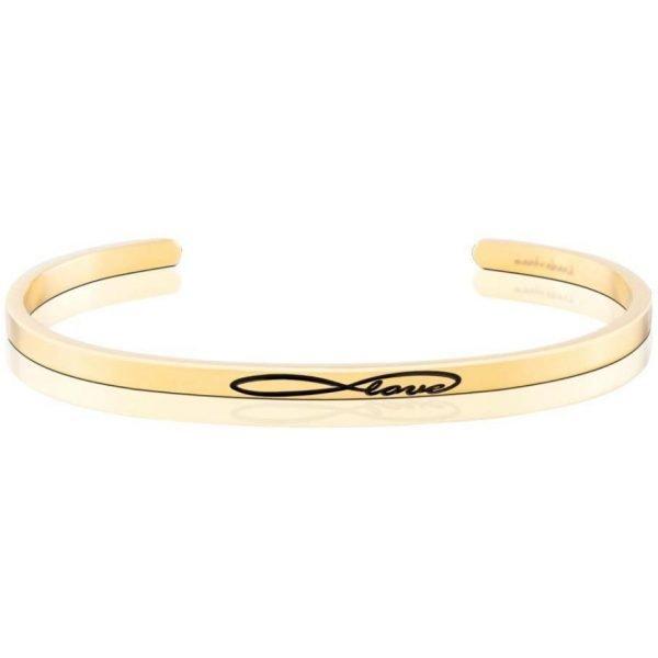 Mantra Bracelet 'Infinity Love' - Schmuck - Gold