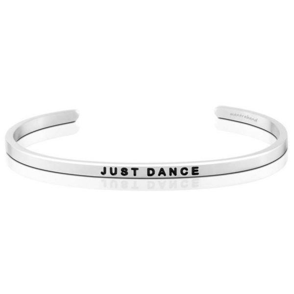 Mantra Bracelet 'Just Dance' - Schmuck - Silber